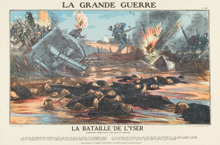 The Battle of the Yser, La Grande Guerre