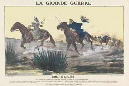 Cavalry combat, Ypres, La Grande Guerre