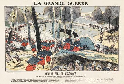 Battle close to Bikschote, La Grande Guerre