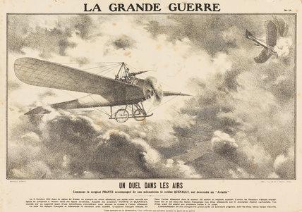 A duel in the skies, La Grande Guerre
