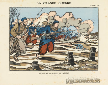The prize of the Ferryman's house, La Grande Guerre