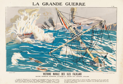 Naval victory of the Falkland Islands, La Grande Guerre
