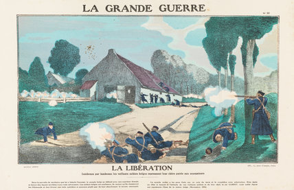 The liberation, La Grande Guerre