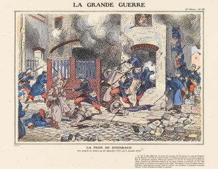 The capture of Steinbach, La Grande Guerre