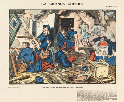 The French know how to die, La Grande Guerre