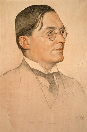 M.R. James, Provost of Eton by William Strang
