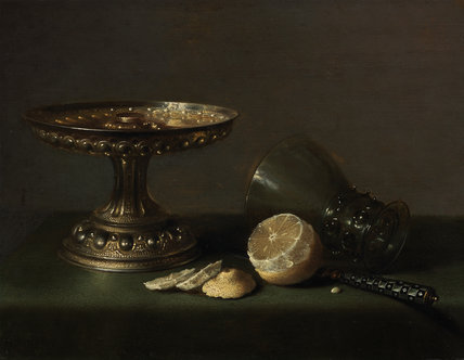 Still-life, by Pieter Claesz
