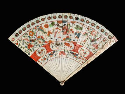 Wedge-shaped brise fan for European market