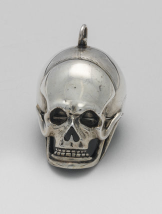 Verge skull-shaped watch, by Raymond Champenois