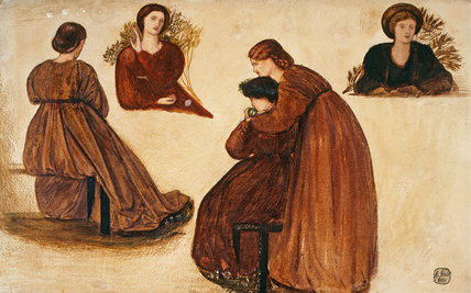 Designs for the Red House, by Burne-Jones
