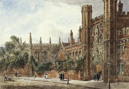 St. John's College, Cambridge, by Joseph Murray Ince