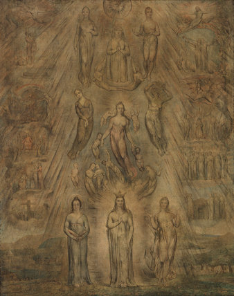 An Allegory of the Spiritual Condition of Man, by Blake