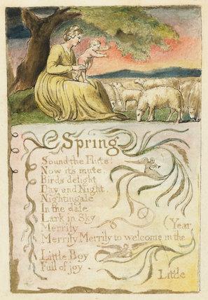 Spring: Songs of Innocence, by Blake