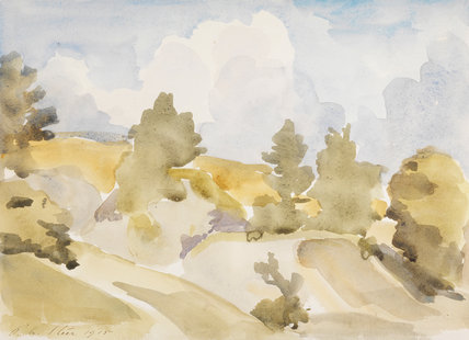 Chalk-pits, Painswick, by Steer