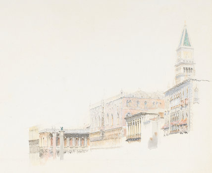 Riva degli Schiavoni, by John Ruskin