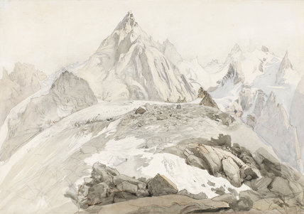 Aiguilles de Chamonix, by John Ruskin