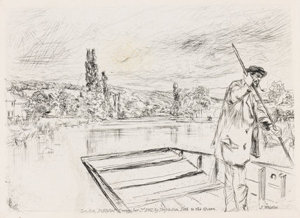 The Punt, by Whistler