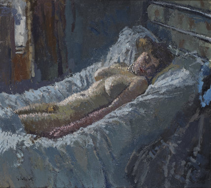 Mornington Crescent Nude, by Sickert