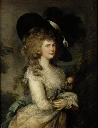 Portrait of Georgiana, Duchess of Devonshire, c.1785-87