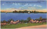 Union Point on Lake Chargoggagoggmanchauggagoggchaubunagungamaugg, Webster, Mass.