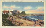 View Along the Shore at Weekapaug, R.I.
