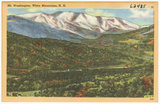 Mt. Washington, White Mountains, N.H.
