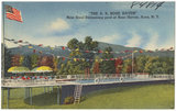"""""""The S. S. Rose Haven."""" New steel swimming pool at Rose Haven, Acra, N.Y."""
