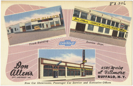 Don Allen's City Chevrolet, Inc., 2585 Main at Fillmore, Buffalo, N.Y.