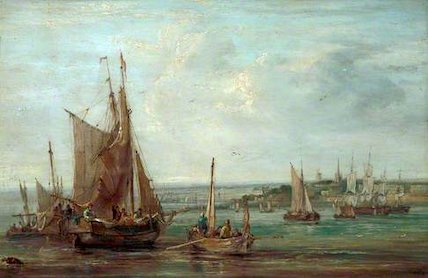 Fishing Boats on the Mersey