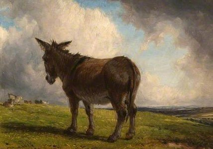 A Donkey in a Landscape