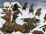 Over The Top'. 1st Artists' Rifles at Marcoing, 30th December 1917