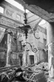The ruins of the Great Synagogue in Dukes Place, London, which was destroyed by an air raid on the evening of Saturday 10 May 1941.