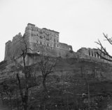 The ruined monastery at Cassino, Italy, 19 May 1944.