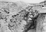 Roll call of the 1st Battalion, Lancashire Fusiliers on the afternoon of 1 July 1916, following their assault on Beaumont Hamel during the opening day of the Battle of the Somme.</br></br></br>