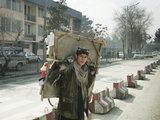 A street hawker in Kabul, Afghanistan, 2014