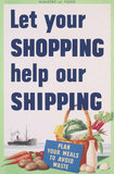 Let Your Shopping Help Our Shipping
