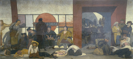 The Underworld: Taking cover in a Tube Station during a London air raid