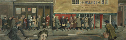 The Queue at the Fish-shop