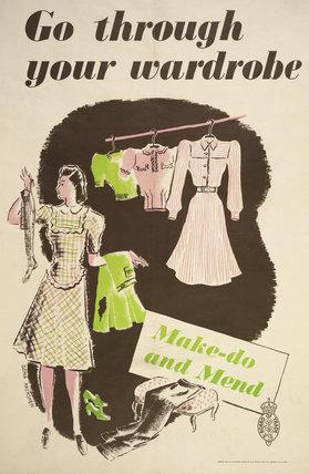 Go Through Your Wardrobe - Make-Do and Mend