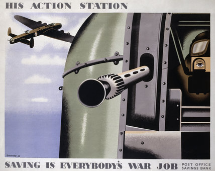 His Action Station - Saving is Everybody's War Job