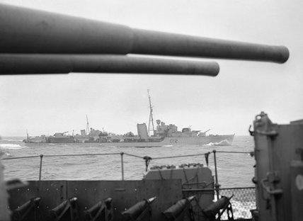 HMS KASHMIR, 1941.