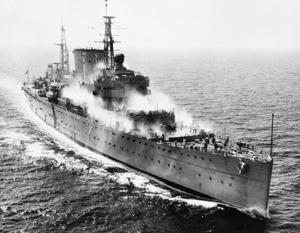 HMS CUMBERLAND during