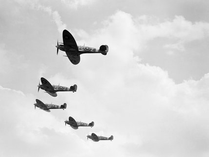 Supermarine Spitfire Mk VBs of No. 81 Squadron RAF, June 1942.