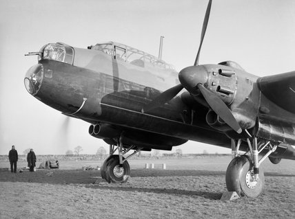 Avro Manchester Mk I of No. 207 Squadron RAF at Waddington, Lincolnshire, 12 September 1941.
