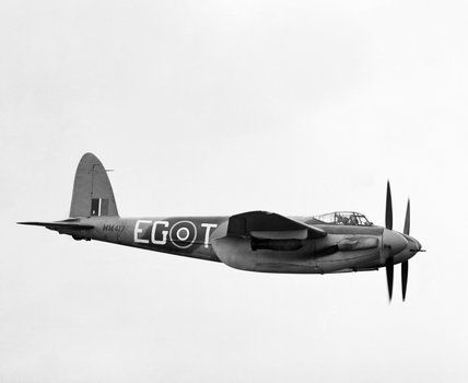 De Havilland Mosquito FB Mk VI of No. 487 Squadron RNZAF based at Hunsdon, Hertfordshire, 28 February 1944.