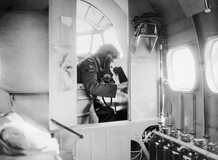 The interior of a Lockheed Hudson Mk I of No. 206 Squadron RAF, June 1940.