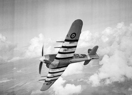 A Hawker Typhoon Mk IB of No. 486 Squadron RAF, 27 October 1943.