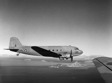 Douglas Dakota Mk III of No. 267 Squadron RAF based at Bari in Italy, 27 December 1944.