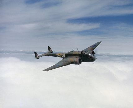 Handley Page Hampden Mk I of No.455 Squadron RAAF, based at Leuchars in Scotland, May 1942.