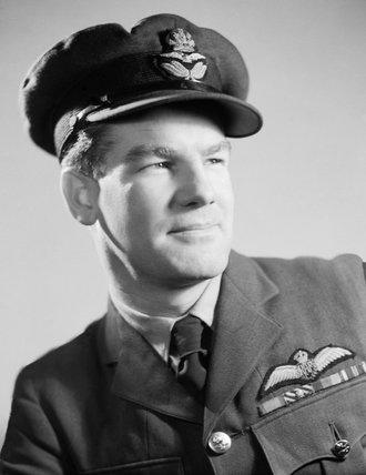 Portrait of Wing Commander Alan Christopher 'Al' Deere, RAF, July 1944.